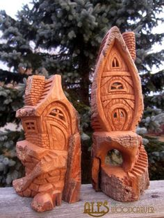 Ales the woodcarver: The last houses of 2014