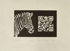 """""""Evolution ?"""", linogravure réalisée par Eric Schelstraete en neuf exemplaires, 2015."""
