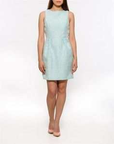 Rochie Jacquard verde High Neck Dress, Dresses For Work, Fashion, Green, Turtleneck Dress, Moda, Fashion Styles, Fashion Illustrations, High Neckline Dress