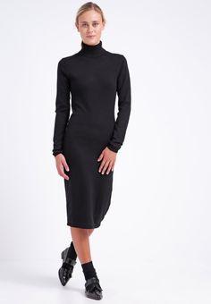 mint&berry Strikket kjole - black - Zalando.no