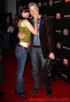 Pauley Perrette and Mark Harmon (Abby and Gibbs - NCIS)