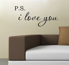 P.S. I Love You - $5.99. http://www.bellechic.com/products/1cdd7fde43/p-s-i-love-you