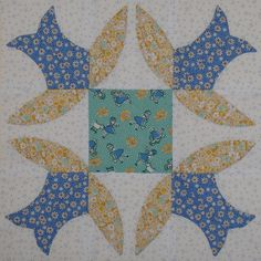 Vintage Block Quilt Along Block 8 | Catching up! I'm way be… | Flickr - Photo Sharing!