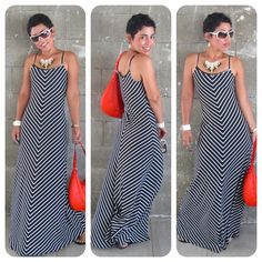 Today's Vlog + Black & White Chevron Maxi Love! |Fashion, Lifestyle, and DIY