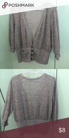 grayish 1X cardigan Women cardigan plus size Sweaters Cardigans