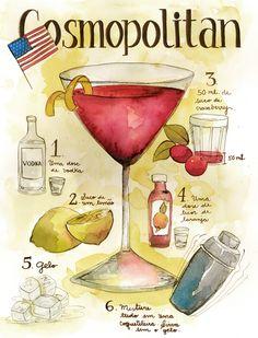 Classic Cosmopolitan: 1 ounces vodka ounce cointreau ounce cranberry juice ounce fresh lime (or lemon) juice Summer Drinks, Fun Drinks, Alcoholic Drinks, Beverages, Holiday Drinks, Party Drinks, Holiday Parties, Cocktail Party Food, Cocktail Drinks