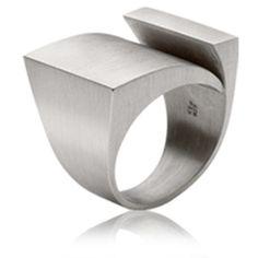 Silver Mergulho ring by Antonio Bernardo