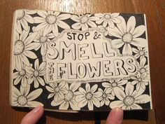 Mini Typography Sketchbook Project by Lee Price, via Behance