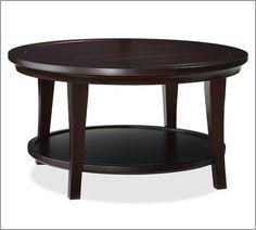 Metropolitan Round Coffee Table | Pottery Barn
