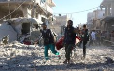 British forces could help protect Syria from Russian 'war crimes' - Telegraph.co.uk