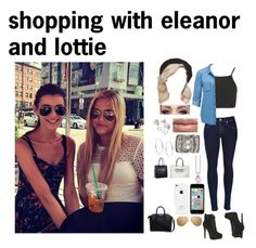 """shopping with eleanor and lottie"" by dorastyles-clxiv ❤ liked on Polyvore featuring Topshop, rag & bone, Forever New, ALDO, Forever 21, Sara Designs, Michael Kors, Thomas Sabo, Linda Farrow and Givenchy"