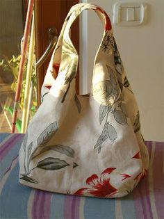 roberta_filava_filava: Exchange drawings for ideas .: roberta_filava_f . Types Of Handbags, Diy Sac, Diy Handbag, Boho Bags, Bag Patterns To Sew, Types Of Bag, Fabric Bags, Easy Sewing Projects, Sewing Ideas