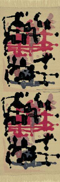 Tappeto mod.l/26, Mauro Manca, Mariuccia Cannas - Aggius, 1959, courtesy Collezione I.S.O.L.A. - Assessorato del Turismo della Regione Sarda / Una regione. Sardegna / Dall'Autarchia all'Autonomia.