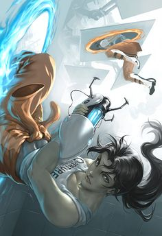 Chell by Quirkilicious.deviantart.com on @deviantART