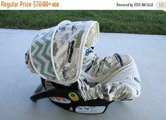 LITTLE MAN//ANTLERS//BLACK MINKY INFANT CAR SEAT SLIP COVER Graco/&custom