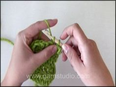 How to crochet a picot edge