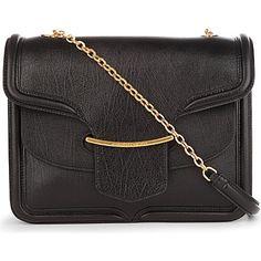 ALEXANDER MCQUEEN Heroine leather shoulder bag