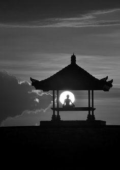 zen meditation station  pagoda