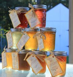 Jelly/Jam Pack of 3 by CraftedHouse on Etsy, $16.95