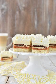 Ciasto pyzie – Famous Last Words Polish Recipes, Polish Food, Vanilla Cake, Cheesecake, Food And Drink, Sweets, Countries, Bakken, Good Stocking Stuffers
