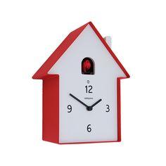 Discover the Diamantini & Domeniconi Meridiana Cucù Clock - Red at Amara