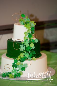Image result for st patrick's day cake wedding