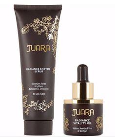 JUARA Radiance Enzyme Scrub & Radiance Vitality Oil