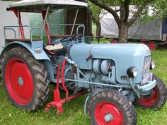 #Traktor, tractor #Eicher www.ericclassen.de