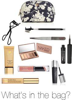 """""""Make Up Bag Essentials"""" by katherineandelizabeth ❤ liked on Polyvore"""
