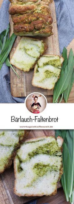 Hast du Lust auf ein Bärlauch Faltenbrot Rezept? Dann habe ich einfaches und leichtes Rezept. Nur 8 Zutaten benötigst und du für dieses Brot. Passend als Beilage zum Grillen oder zu Suppen. #Bärlauch #Brot #Pullarpartbread #Sonntagsistkaffeezeit Wild Garlic, Fabulous Foods, Easy Snacks, Easy Peasy, Salad Recipes, Delish, Good Food, Favorite Recipes, Avocado