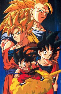 Goku Justin Vo Hoạt hình Anime