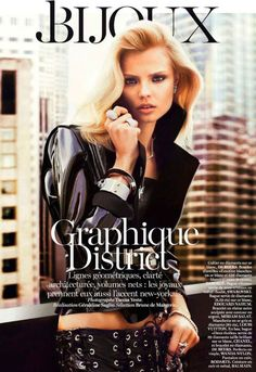 awesome VOGUE PARIS | Editorial Moda Fevereiro 2013 | Magdalena Frackowiak