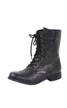 Lace-Up Worker Boot                                                                                  front view