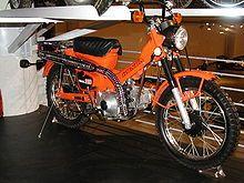 Honda Trail 110 (CT 110), Motorrad ähnlich der Cub, geländegängig.