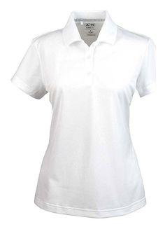 b9b1436b6 Amazon.com: Adidas Ladies' Climalite Basic Polo Shirt: Clothing