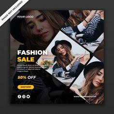 Social Media Ad, Social Media Banner, Social Media Template, Social Media Design, Graphic Design Flyer, Fashion Banner, Poster Background Design, Instagram Post Template, Banner Design