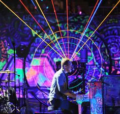 Coldplay - Mylo Xyloto Tour! Best band EVER!!!!!!!  But look tho, look at how AMAZING this picture is. It's perfect