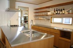 Shocking Info Regarding Kitchen Table Contemporary Room Uncovered 37 - thehomedecores Diy Kitchen Storage, Kitchen Shelves, Kitchen Pantry, Kitchen Backsplash, Kitchen Dining, Japanese Home Design, Japanese House, Kitchen Interior, Home Interior Design