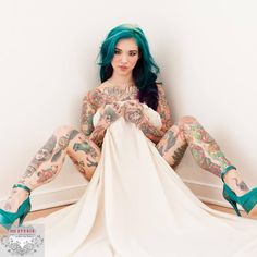 Neptune Suicide is a #heavilytattooed goddess!  Neptune.suicidegirls.com