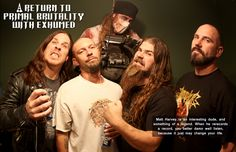 Interview with Exhumed From March 2015 Vandala Magazine Matt Harvey is an interesting dude, and something of a legend.  When he rerecords a record, you better damn well listen, because it just may change your life