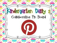 Little Miss Kindergarten - Lessons from the Little Red Schoolhouse!: Daily Five!