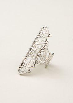 Repossi Rings :: Repossi white gold Maure ring | Montaigne Market