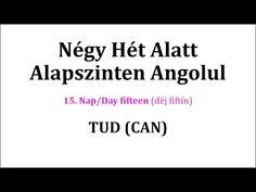 Könnyen, Gyorsan Angolul 1-106. nap - YouTube English Words, English Language, Canning, Education, Youtube, English People, Home Canning, English, Teaching