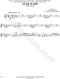 Star Wars - Trumpet sheet music from Star Wars