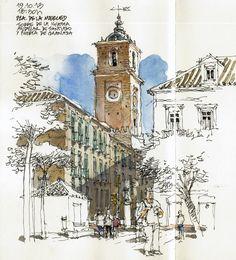 Luis Ruiz - Málaga, Iglesia de Santiago