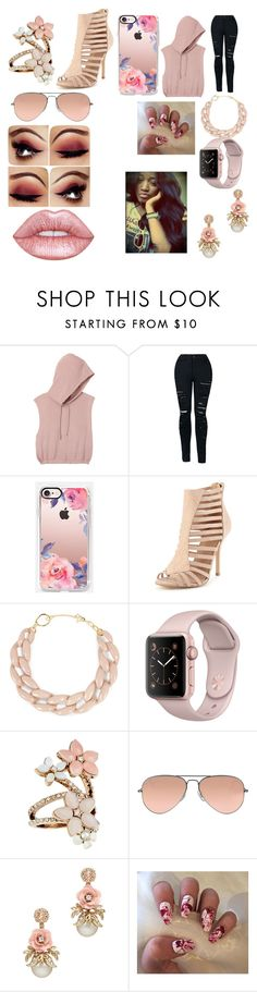 """""""jacob statoriesD;"""" by mysquadgoals2026 on Polyvore featuring RVCA, Casetify, DIANA BROUSSARD, Accessorize, Ray-Ban and Lime Crime"""