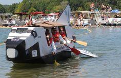 World Championship Cardboard Boat Races – Photo: Waren Sports Photography