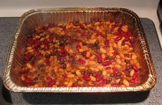 4th of July BBQ Recipes - Smoker Style BBQ Beans