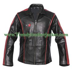 mass effect-3 n7 real leather jacket. Take control of the world of fashion and set your rules with this Mass Effect 3 Leather Jacket! This Mass Effect Jacket is originated from famous action-packed role playing game – Mass Effect 3 and it was carried by the central character of the game – Commander Shepard. The N7 Mass Effect Leather Jacket is made up of premium Cowhide quality and its lined with Polyester lining swathing it with lavishness from outside and comfort from inside.