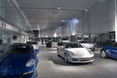 Car showroom Exhibition Room, Dream Garage, Supercar, Showroom, Warehouse, Motors, Commercial, Racing, Spaces